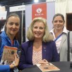 L-R Leticia Gomez, Nola Hennessy & Beatriz Toro, Washington DC Sept 2012